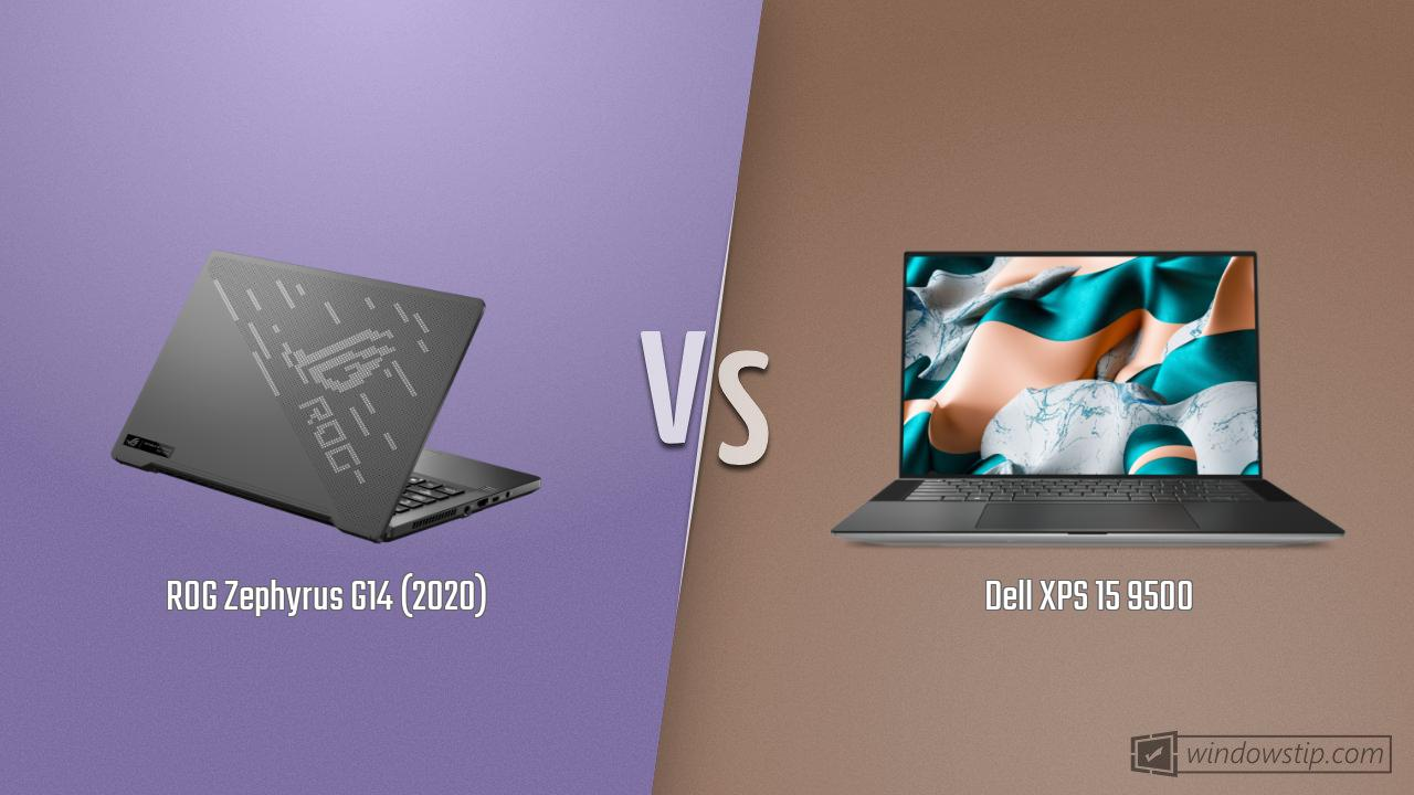 ROG Zephyrus G14 (2020) vs. Dell XPS 15 9500
