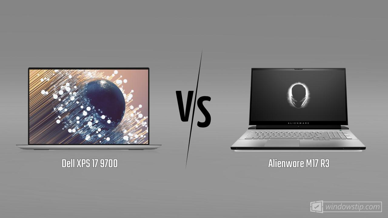 Dell XPS 17 9700 vs. Alienware M17 R3