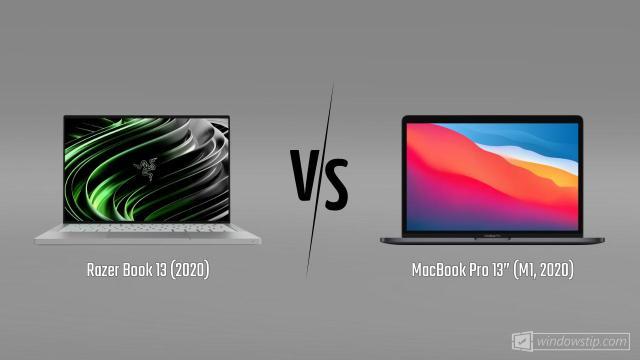 "Razer Book 13 (2020) vs. MacBook Pro 13"" (M1, 2020 ..."
