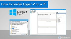 How to Enable Hyper-V on Your Windows 10 PC