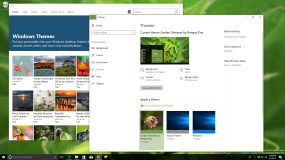 How to get new themes from the Windows Store