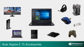 Best Accessories for Acer Aspire E 15
