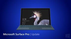 Microsoft Surface Pro Update
