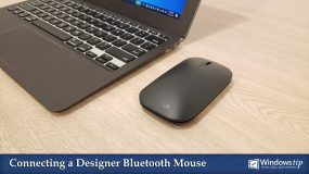 How to connect or pair a Microsoft Designer Bluetooth Mouse