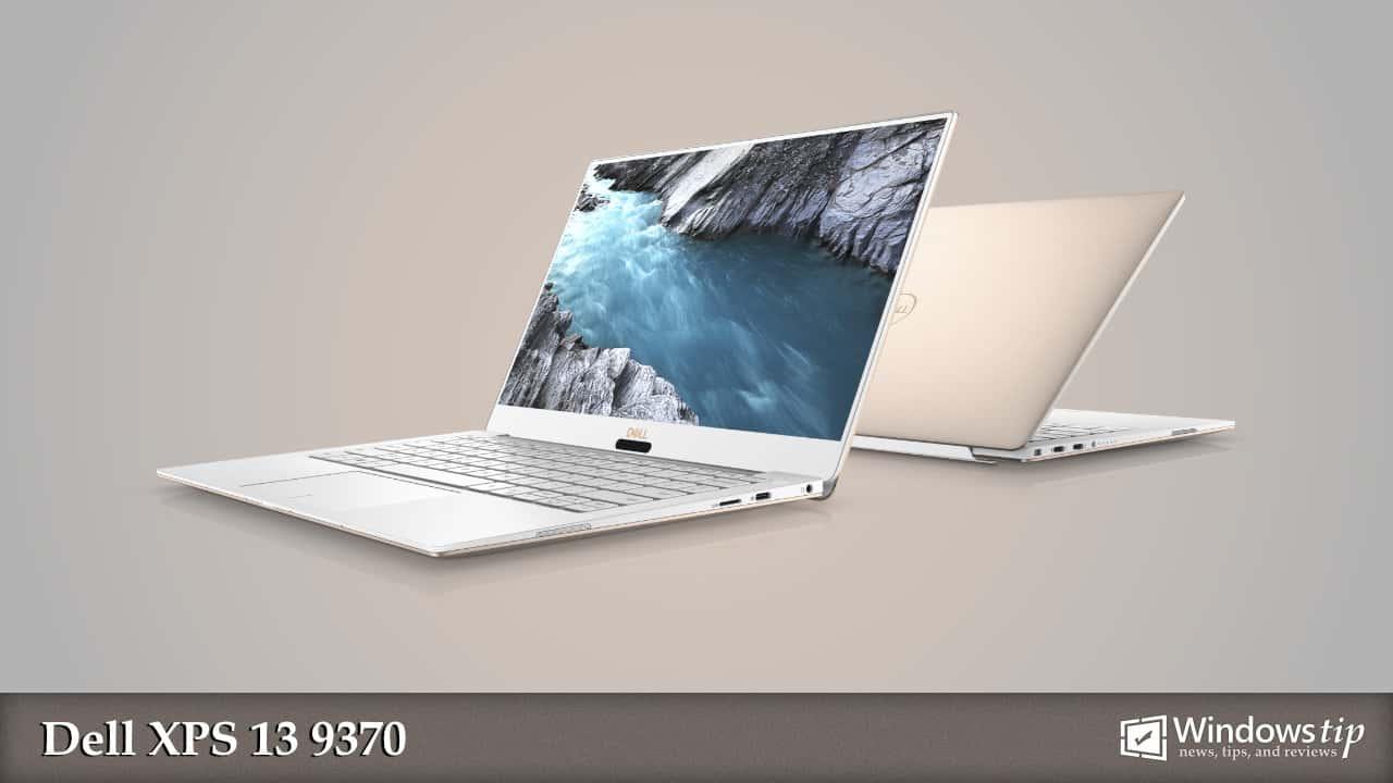 Dell XPS 13 9370 Specs