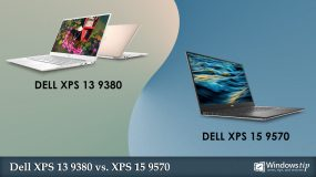 Dell XPS 13 9380 vs. Dell XPS 15 9570