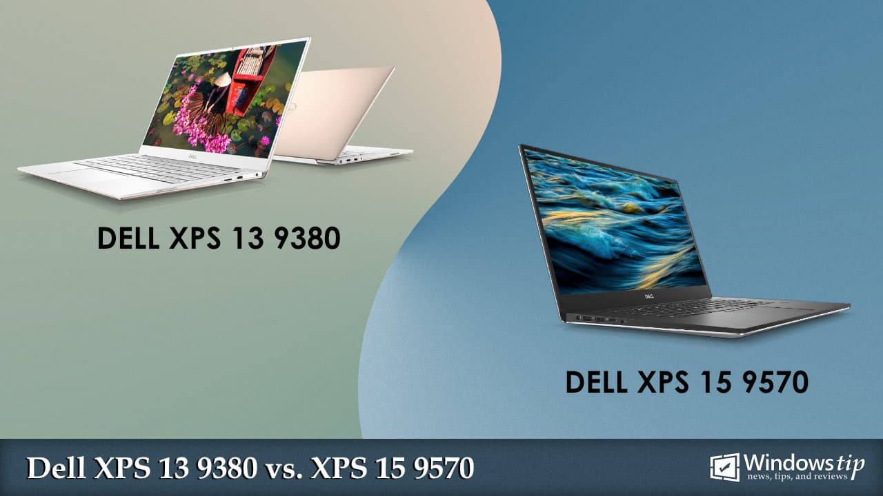 Dell XPS 13 9380 vs. Dell XPS 15 9570
