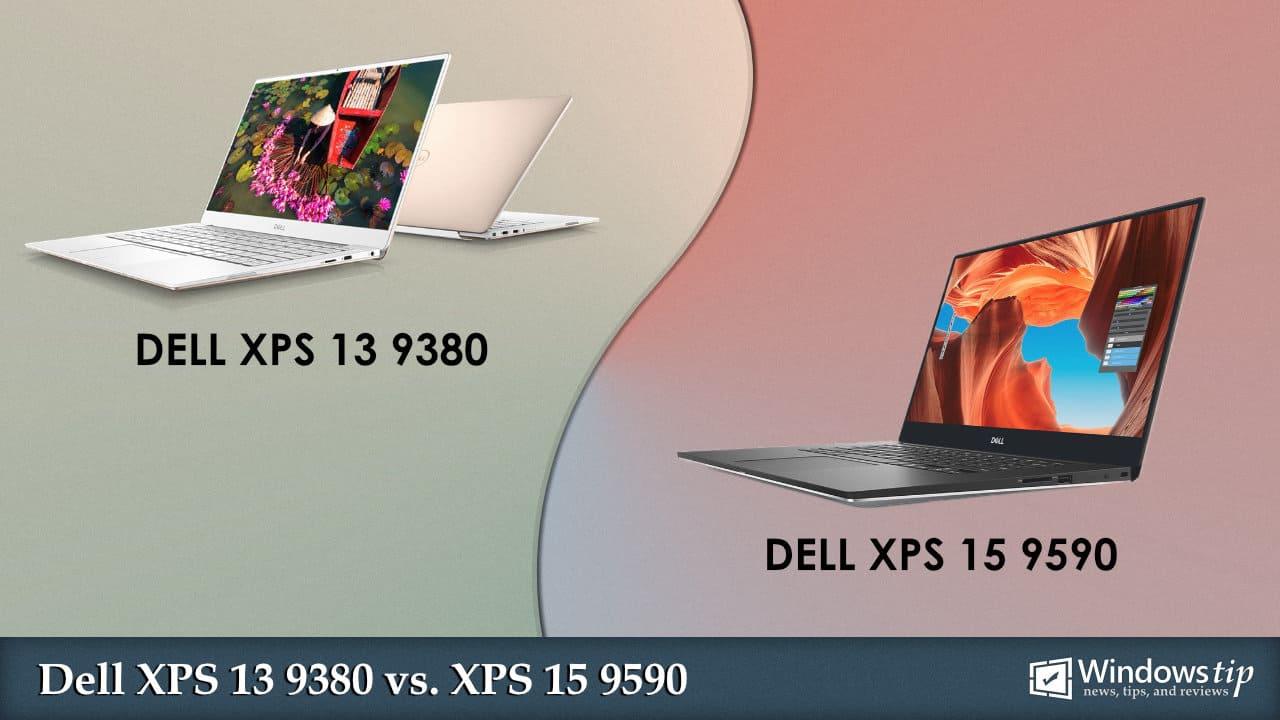 Dell XPS 13 9380 vs. Dell XPS 15 9590
