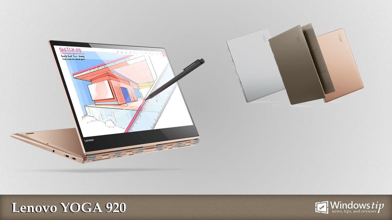 What is the display size, resolution, PPI of Lenovo Yoga 920?