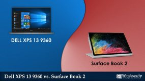 Dell XPS 13 9360 (2017) vs. Surface Book 2