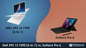 Dell XPS 7390 (2-in-1) vs. Surface Pro 6