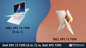 Dell XPS 7390 (2-in-1) vs. Dell XPS 13 7390