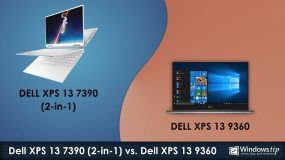 Dell XPS 7390 (2-in-1) vs. Dell XPS 13 9360