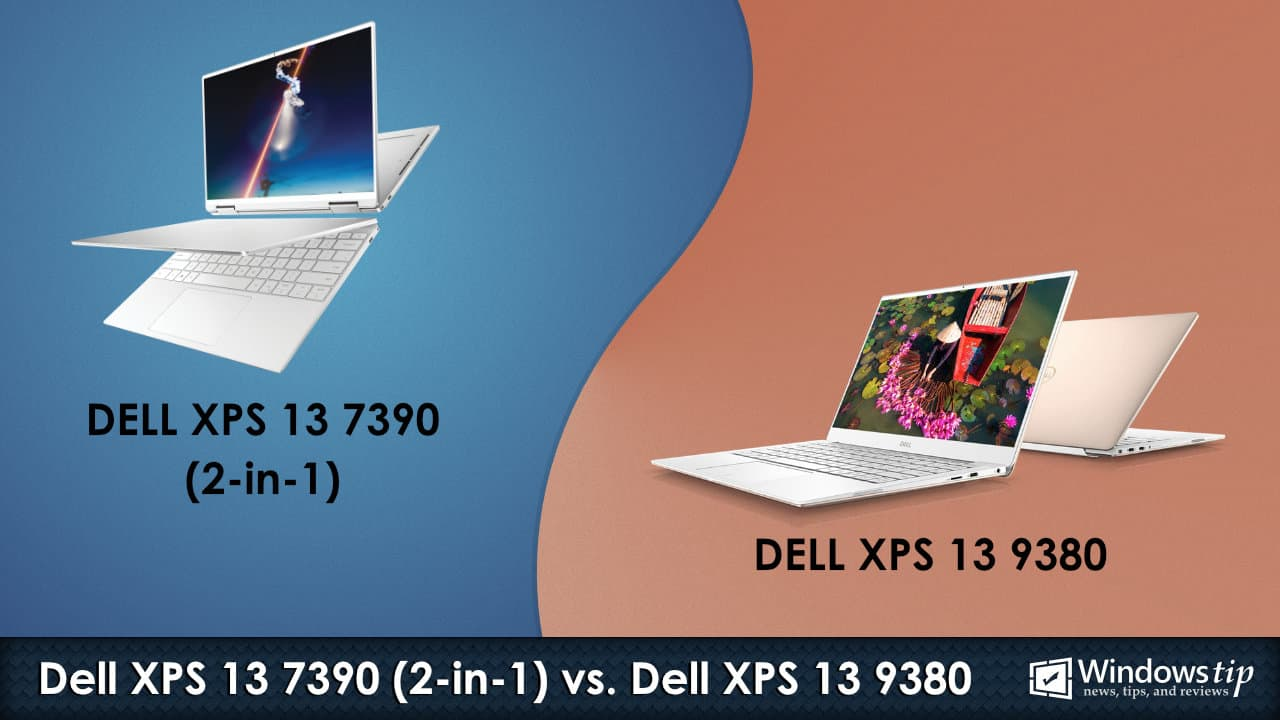 Dell XPS 7390 (2-in-1) vs. Dell XPS 13 9380
