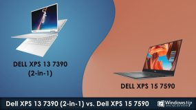 Dell XPS 7390 (2-in-1) vs. Dell XPS 15 7590