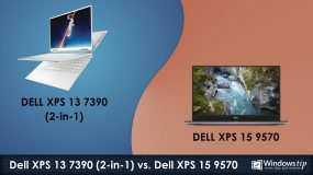 Dell XPS 7390 (2-in-1) vs. Dell XPS 15 9570