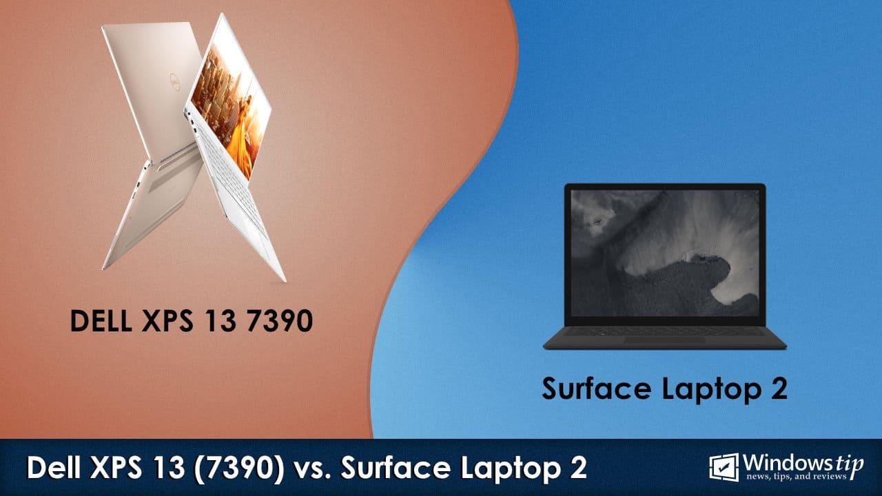 Dell XPS 13 7390 vs. Surface Laptop 2