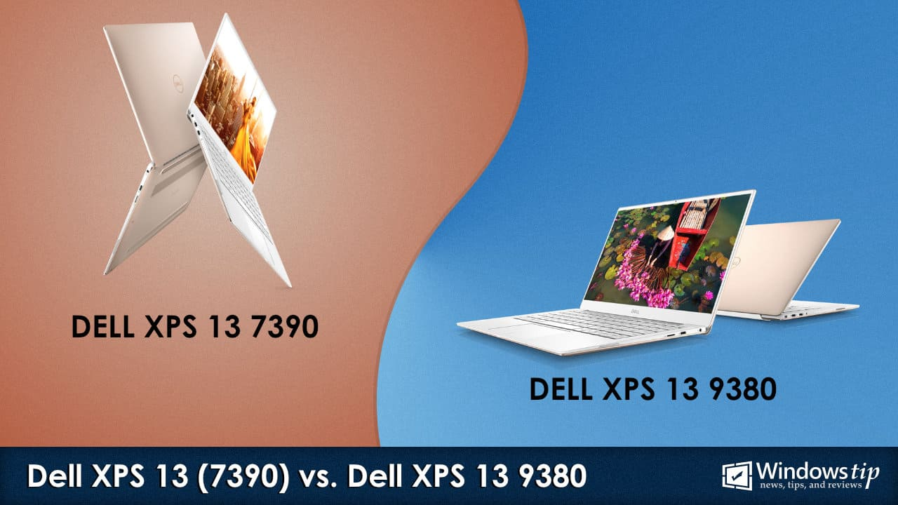 Dell XPS 13 7390 vs. XPS 13 9380