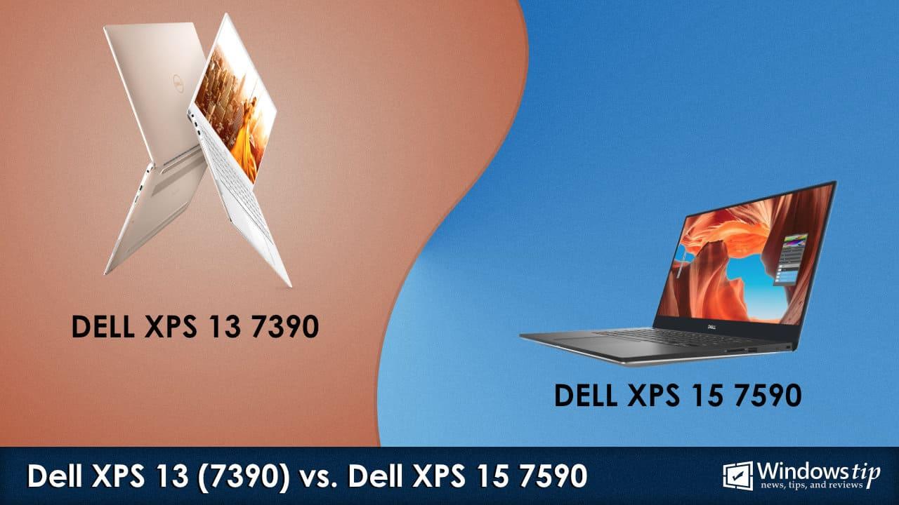 Dell XPS 13 7390 vs. XPS 15 7590
