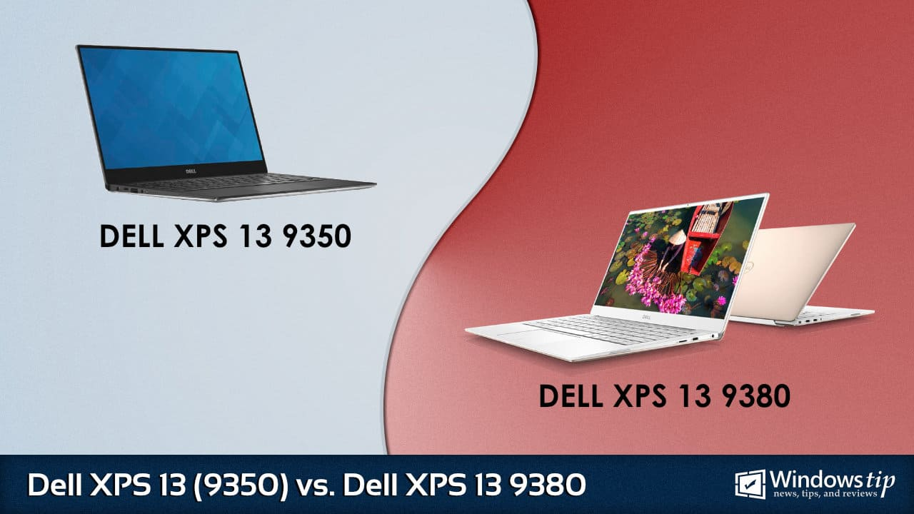 Dell XPS 13 9350 vs. Dell XPS 13 9380