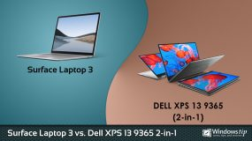 Surface Laptop 3 vs. Dell XPS 13 9365 2-in-1