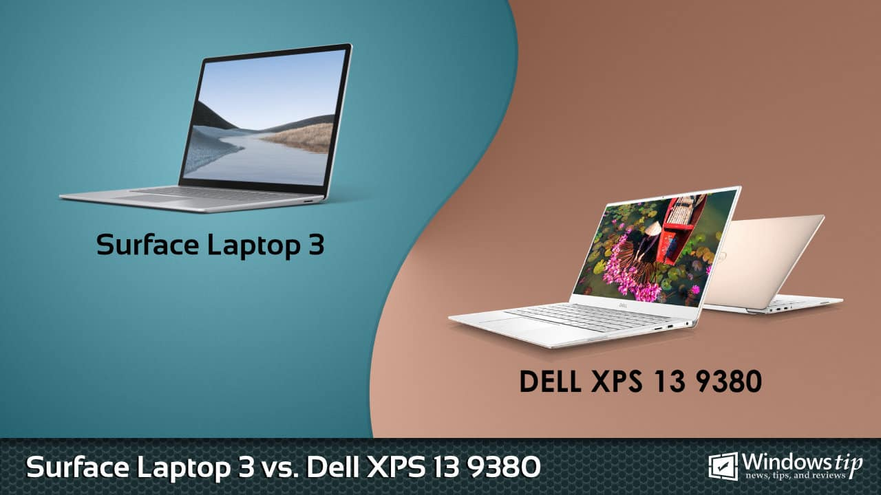 Surface Laptop 3 vs. Dell XPS 13 9380