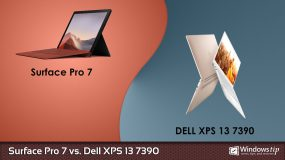 Surface Pro 7 vs. Dell XPS 13 7390