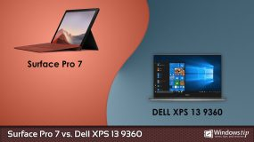 Surface Pro 7 vs. Dell XPS 13 9360