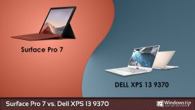 Surface Pro 7 vs. Dell XPS 13 9370