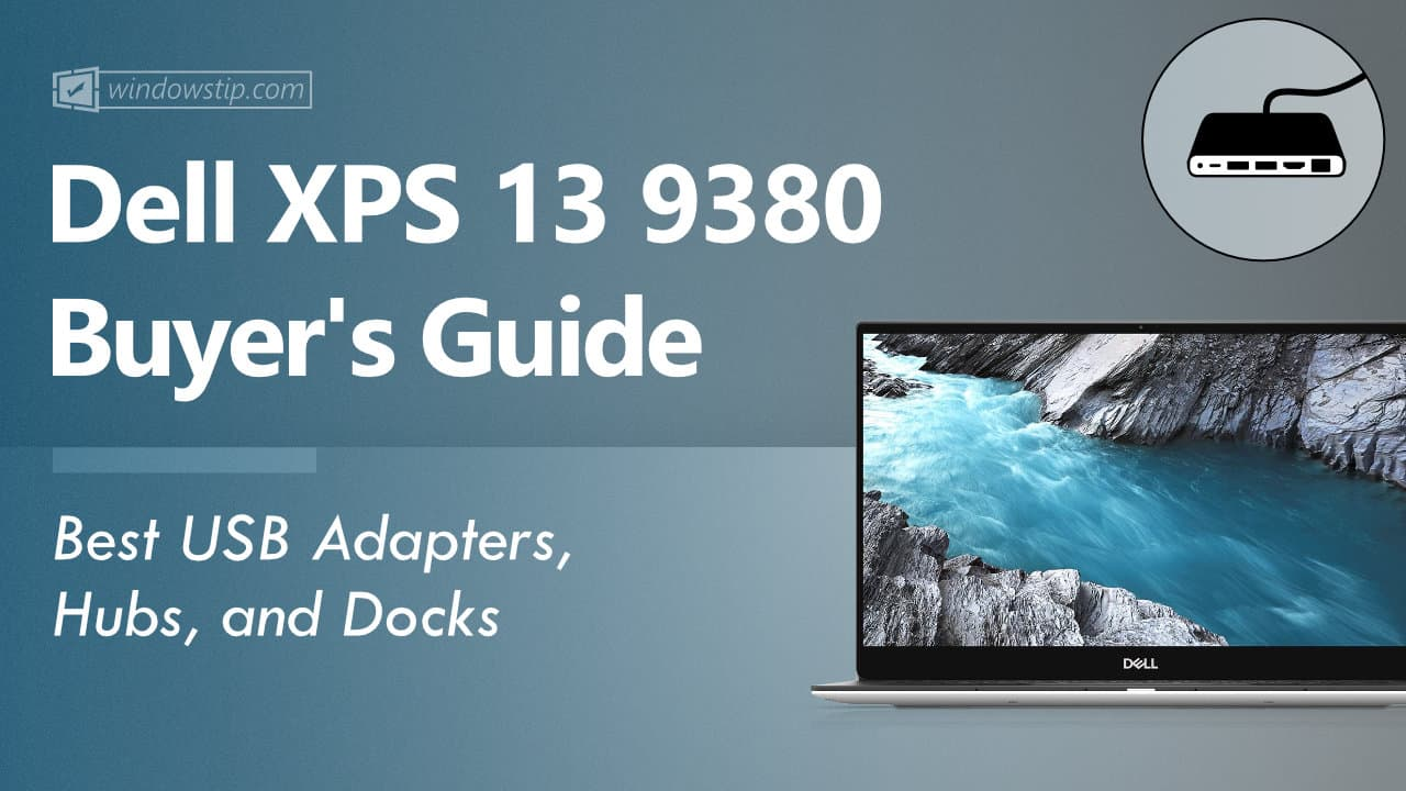 Dell XPS 13 9380 USB Hubs and Docks