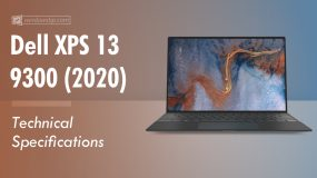 Dell XPS 13 9300 Specifications