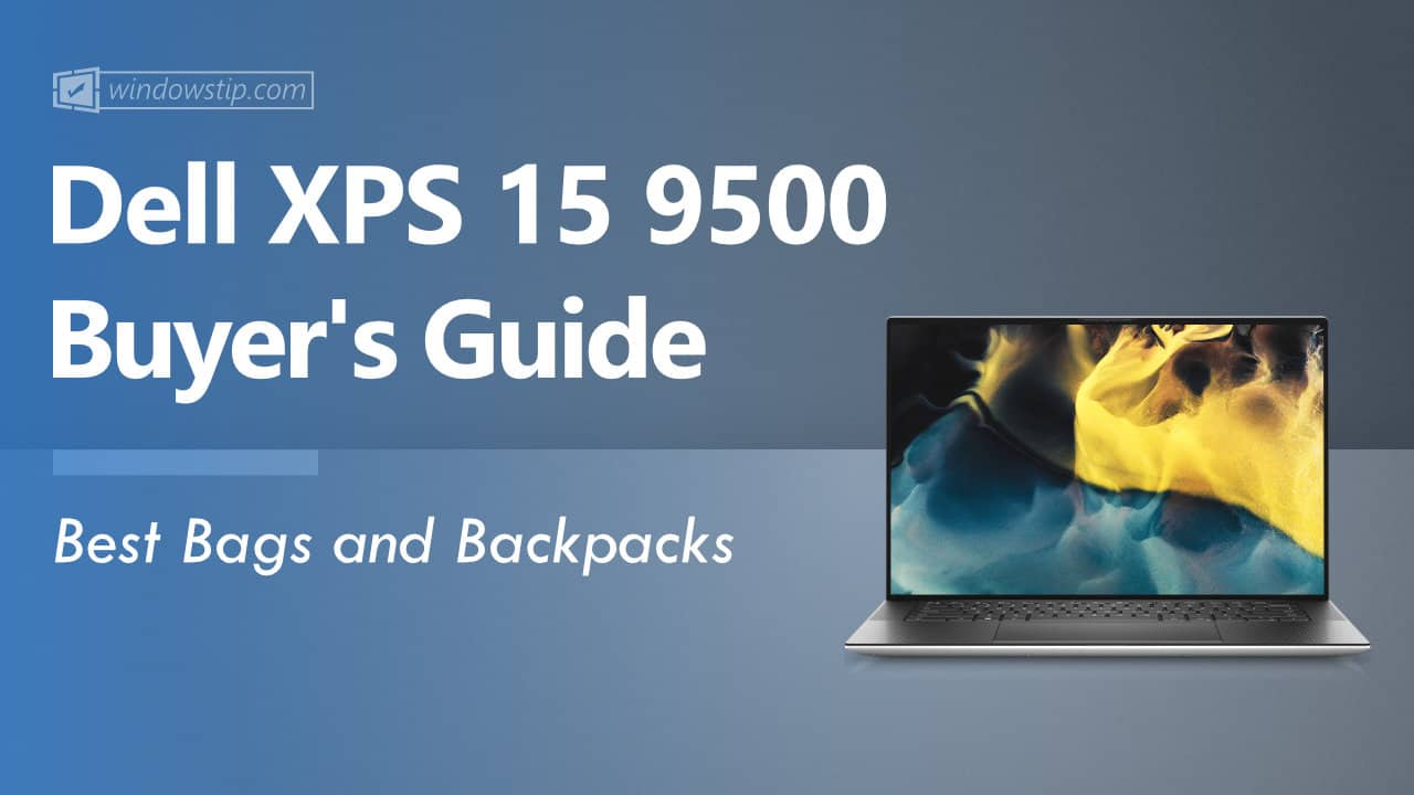 Best Dell XPS 15 9500 Bags and Backpacks