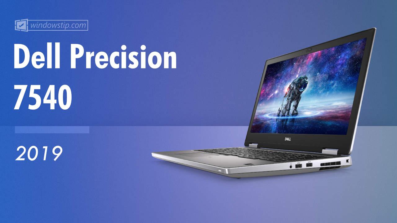 Dell Precision 7540 (2019)