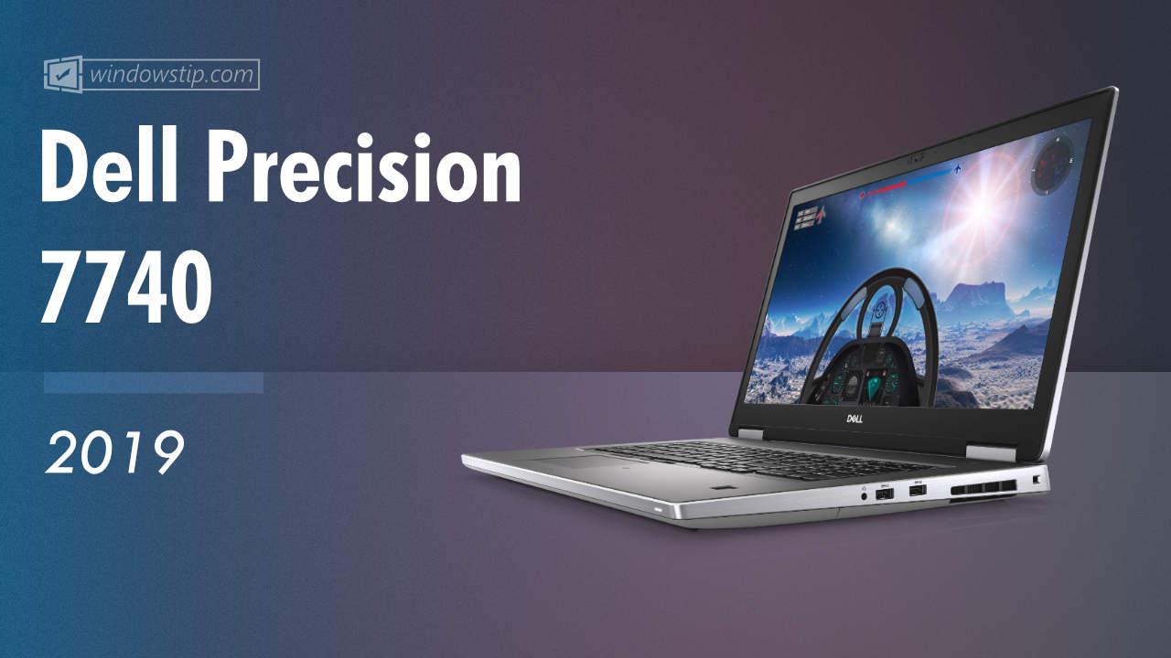 Dell Precision 7740 (2019)