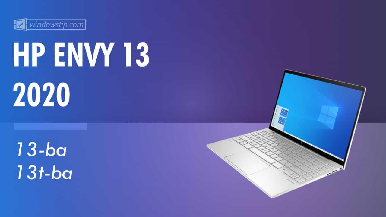 HP ENVY 13 2020