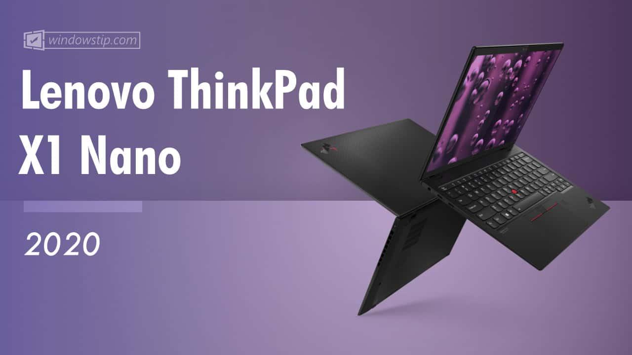Lenovo ThinkPad X1 Nano (2020)
