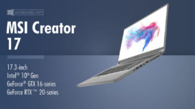 MSI Creator 17 A10SX (2020): Specs – Detailed Specifications