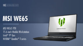 MSI WE65 Mobile Workstation (2019): Specs – Detailed Specifications