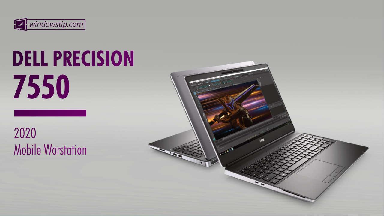 Dell Precision 7550 Specs