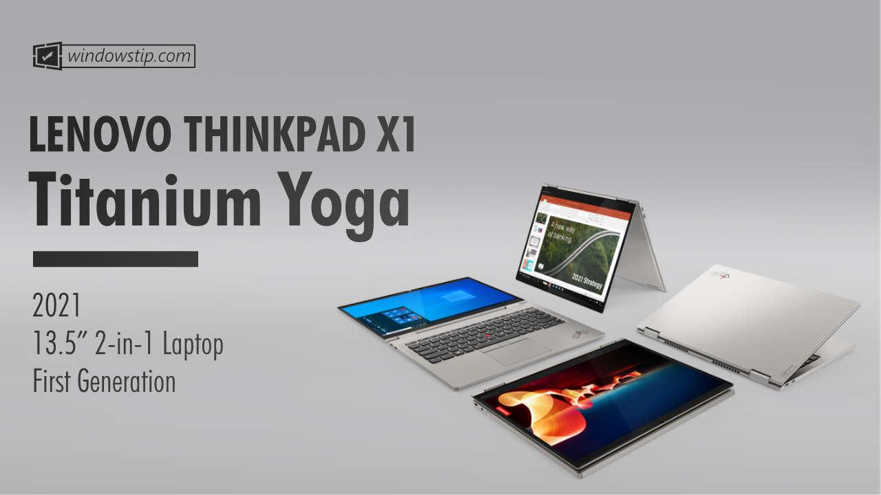 Lenovo ThinkPad X1 Titanium Gen 1 (2021)