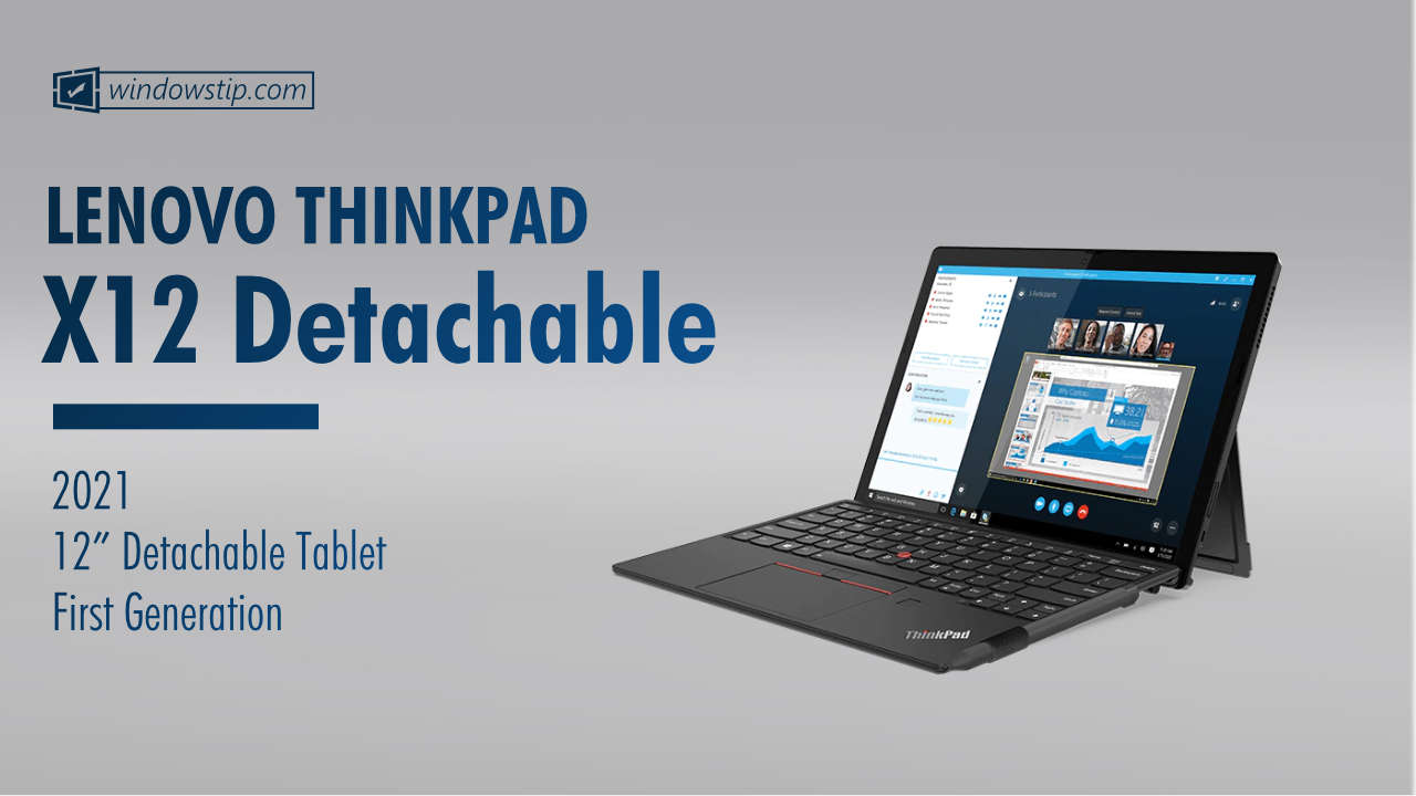 Lenovo ThinkPad X12 Detachable Gen 1 (2021)
