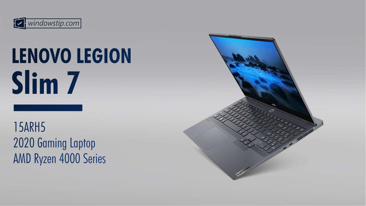 "Lenovo Legion Slim 7 (15"", AMD, 2020)"