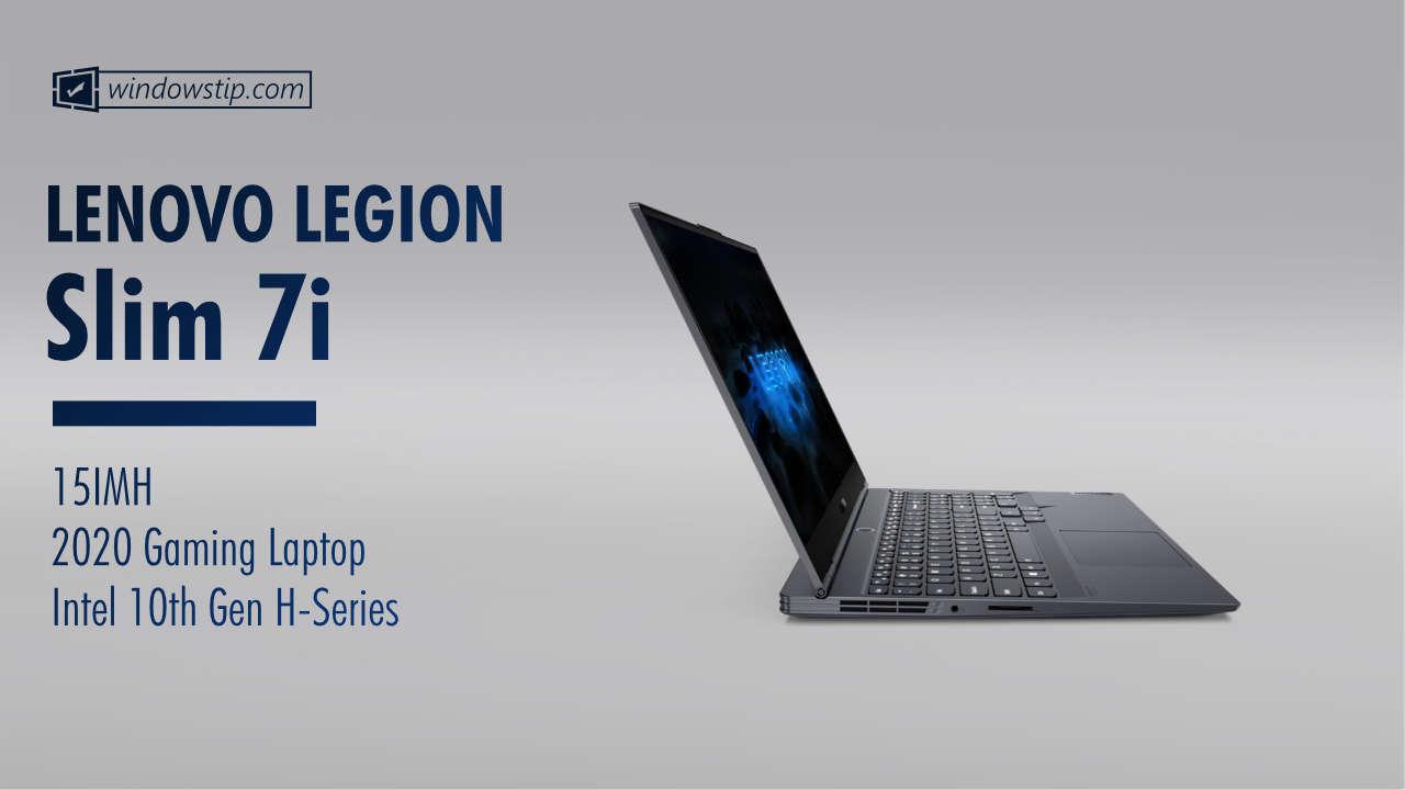 Lenovo Legion Slim 7i (15in) 15IMH