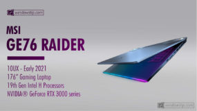 MSI GE76 Raider 10UX (2021) Specs: Full Specifications