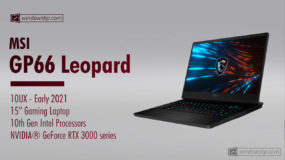 MSI GP66 Leopard 10UX (2021) Specs: Full Specifications