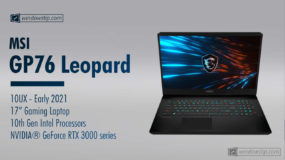 MSI GP76 Leopard 10UX (2021) Specs: Full Specifications