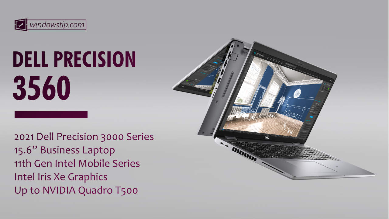 """2021 Dell Precision 15"""" 3560"""