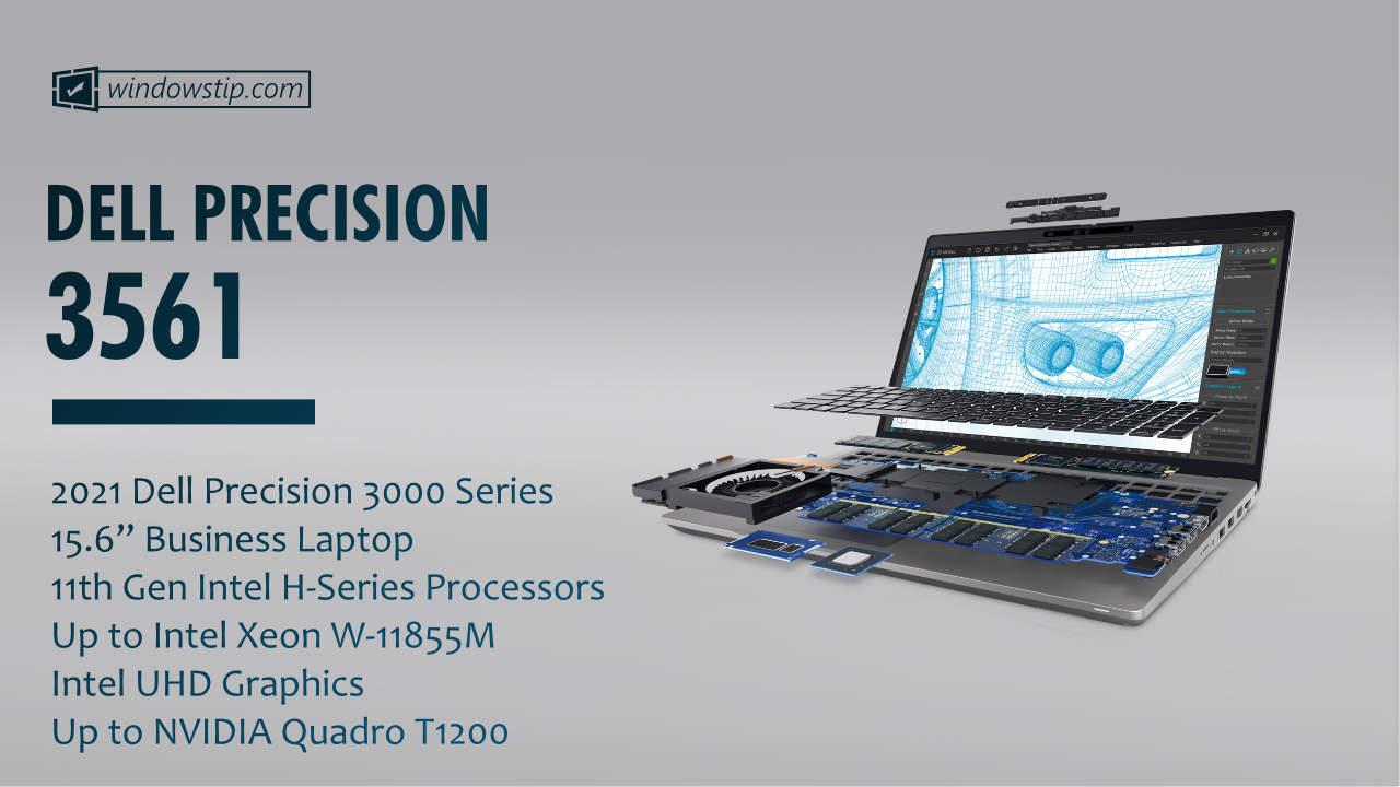"""2021 Dell Precision 15"""" 3561"""