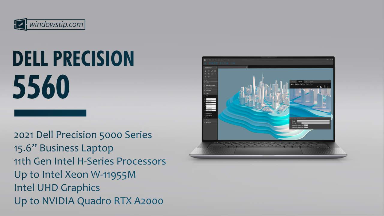 """2021 Dell Precision 15"""" 5560"""