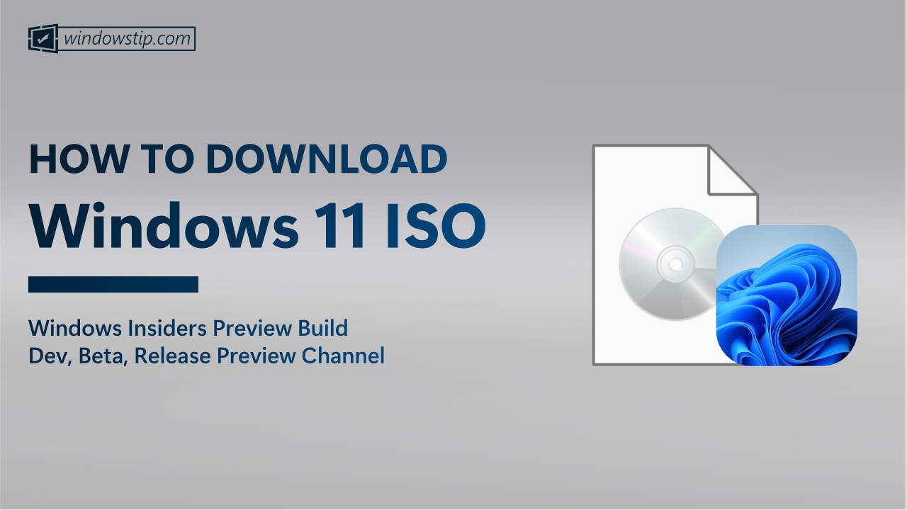 How to Download the Latest Windows 11 Insider ISO File